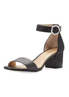 MICHAEL Michael Kors Lena Leather City Sandal