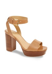 MICHAEL Michael Kors Leonora Platform Sandal (Women)