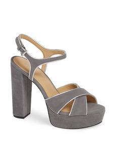 283d071db43c MICHAEL Michael Kors Alexia Leopard-Print Calf Hair Platform Sandals ...