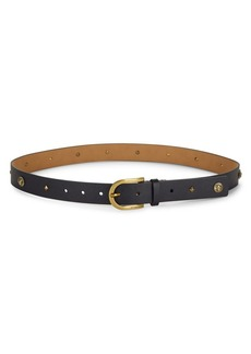 MICHAEL Michael Kors Lion Stud Belt