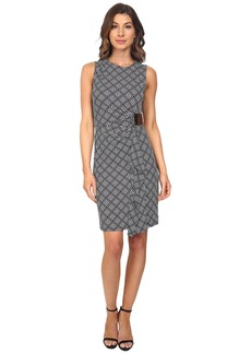 MICHAEL Michael Kors Loflin Logo Sleeveless Dress
