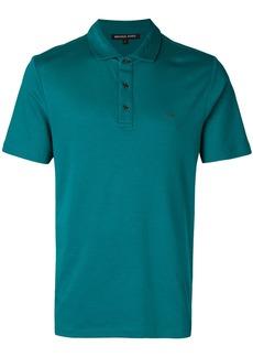 Michael Michael Kors logo-embroidered polo shirt - Green
