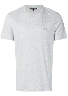 Michael Michael Kors logo-embroidered T-shirt - Grey