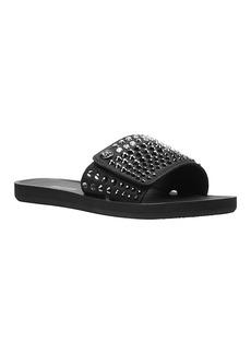 MICHAEL Michael Kors Logo Slide Sandals