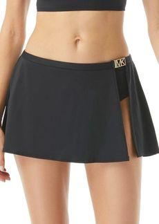 MICHAEL Michael Kors Logo Swim Skirt
