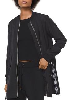 MICHAEL Michael Kors Logo Tape Anorak Jacket
