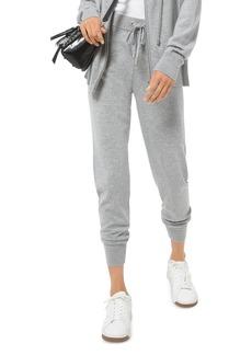 MICHAEL Michael Kors Logo Tape Jogging Pants