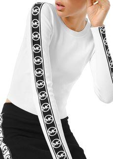 MICHAEL Michael Kors Logo Trim Sweater