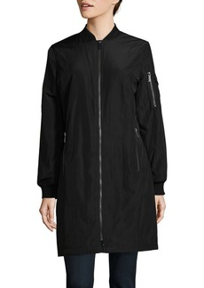 MICHAEL MICHAEL KORS Long Bomber Jacket