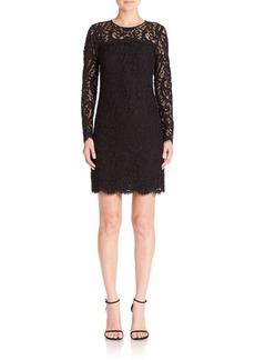 MICHAEL MICHAEL KORS Long Sleeve Lace Dress