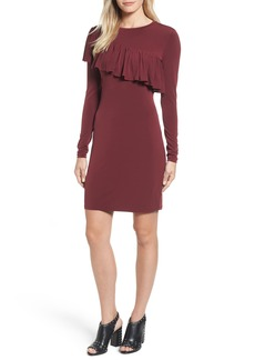 MICHAEL Michael Kors Long Sleeve Ruffle Dress