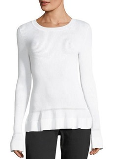 MICHAEL Michael Kors Long-Sleeve Textured-Knit Top