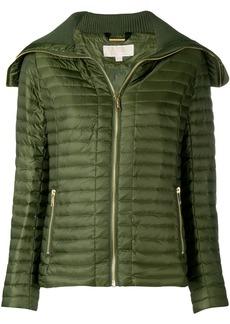 Michael Michael Kors long sleeved zipped jacket - Green