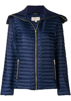 Michael Michael Kors longsleeved puffer jacket - Blue