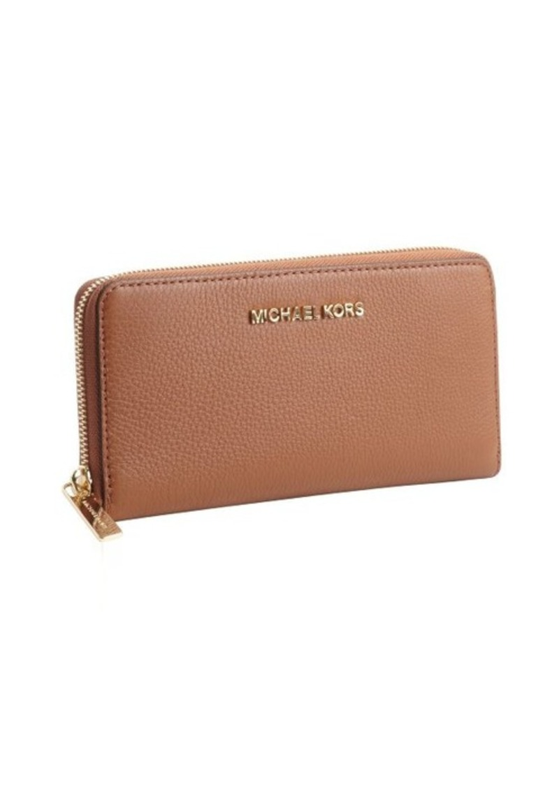 MICHAEL Michael Kors luggage leather 'Bedford' zip continental wallet