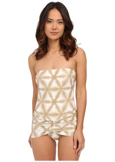 MICHAEL Michael Kors Luna Long Bar Swimdress One-Piece