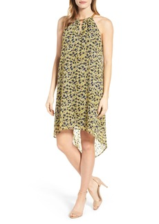 MICHAEL Michael Kors Lydia Chain Neck Shift Dress (Regular & Petite)