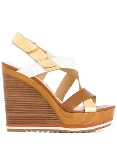 Michael Michael Kors Mackay wedge sandals - Brown