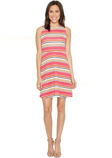 MICHAEL Michael Kors Madison Stripe Flutter Dress