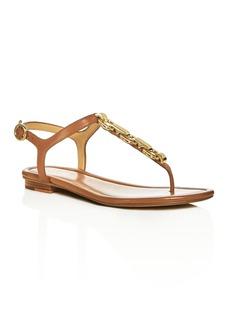 MICHAEL Michael Kors Mahari Embellished Thong Sandals