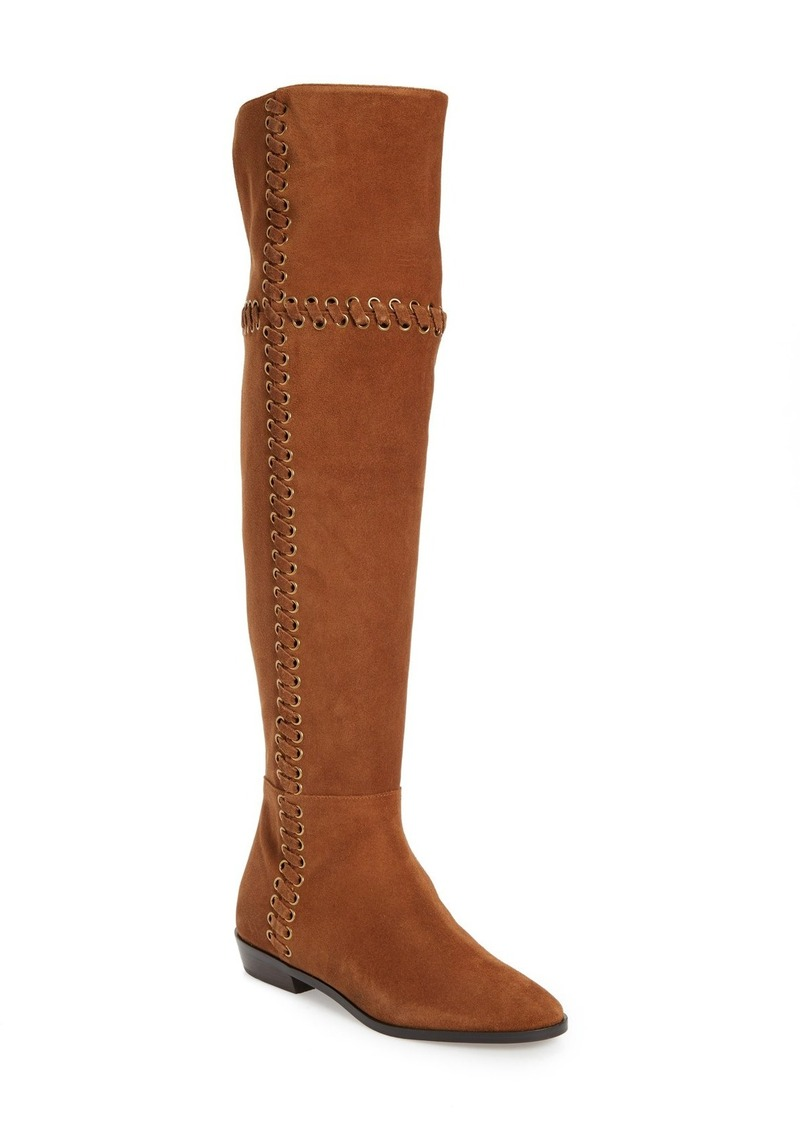 MICHAEL Michael Kors Malin Eyelet Laced Boot (Women)