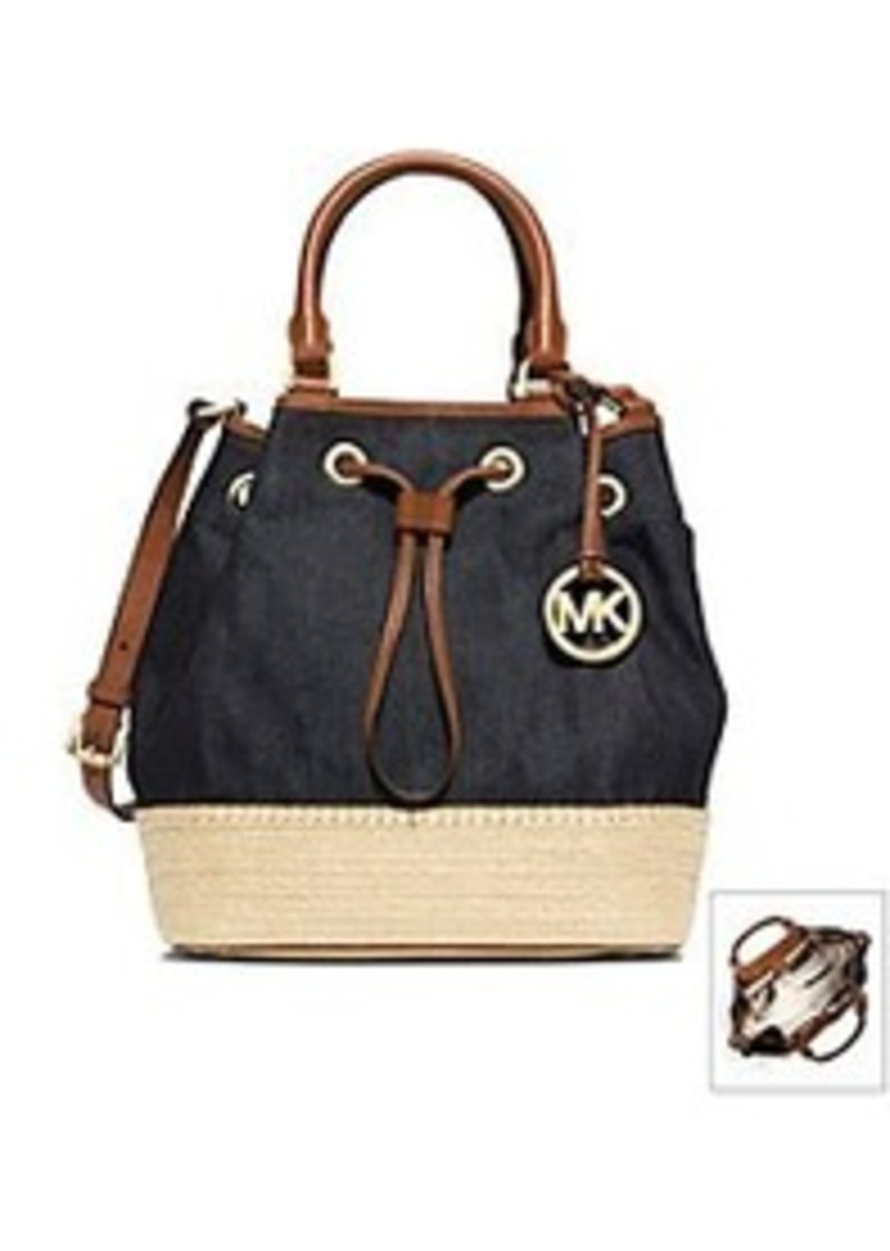 michael michael kors michael michael kors marina espadrille large shoulder tote handbags. Black Bedroom Furniture Sets. Home Design Ideas