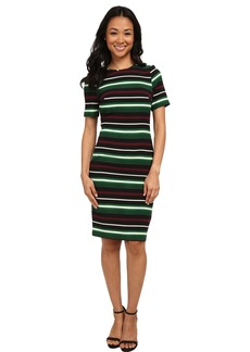 MICHAEL Michael Kors Mauborg Stripe Dress