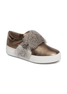 MICHAEL Michael Kors Maven Genuine Rabbit Fur Sneaker (Women)