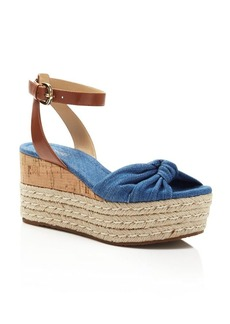 MICHAEL Michael Kors Maxwell Wedge Platform Sandals