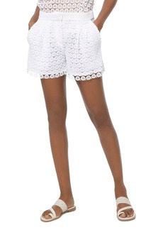 MICHAEL Michael Kors Medallion Lace Mini Shorts