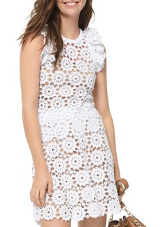 MICHAEL Michael Kors Medallion Pattern Lace Top