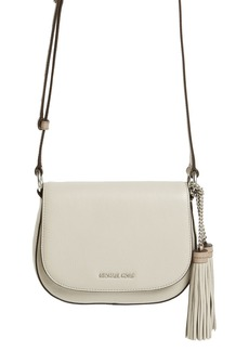 MICHAEL Michael Kors 'Medium Elyse' Leather Saddle Bag