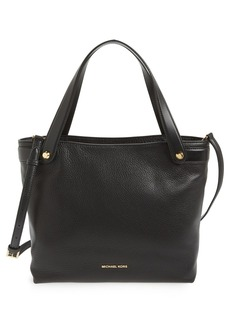 MICHAEL Michael Kors 'Medium Hyland Convertible' Leather Shoulder Tote
