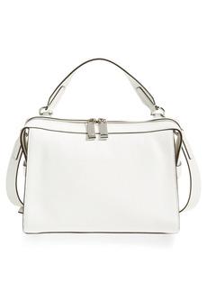 MICHAEL Michael Kors 'Medium Ingrid' Leather Shoulder Bag