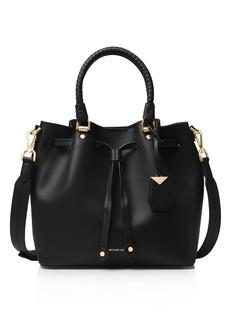 MICHAEL Michael Kors Medium Leather Bucket Bag