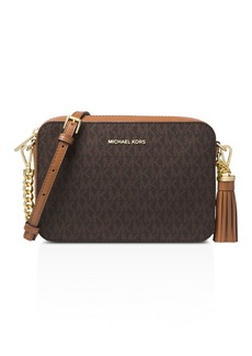 MICHAEL Michael Kors Medium Logo Camera Crossbody