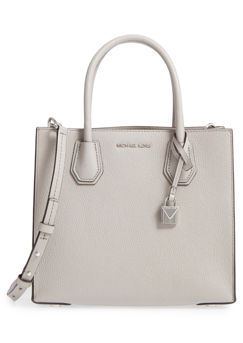 d8a52454ac1c MICHAEL Michael Kors MICHAEL Michael Kors  Medium Mercer  Pebbled ...