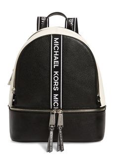 MICHAEL Michael Kors Medium Rhea Leather Backpack