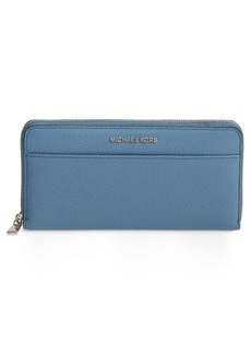 MICHAEL Michael Kors Mercer Leather Continental Wallet