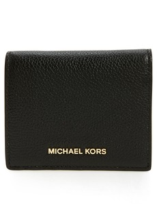 MICHAEL Michael Kors Mercer Leather RFID Card Holder