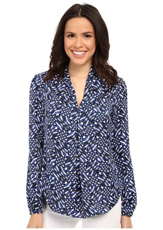 MICHAEL Michael Kors Mercer Print V-Neck Top