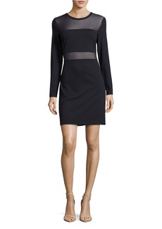 MICHAEL MICHAEL KORS Mesh Panelled Dress