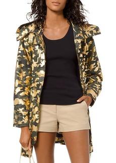 MICHAEL Michael Kors Metallic Camo Jacket