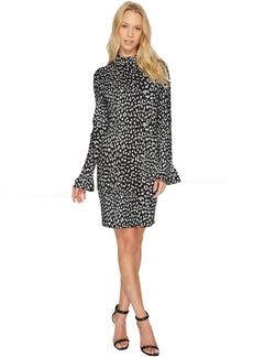 Metallic Cheetah Dress