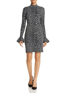 Michael Michael Kors Metallic Cheetah-Print Dress