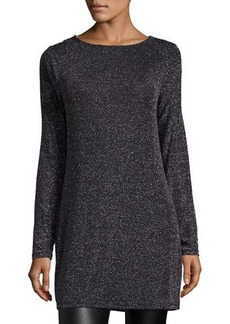 MICHAEL Michael Kors Metallic Cowl-Back Dress