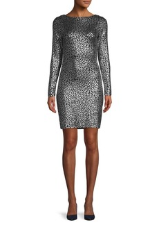 MICHAEL Michael Kors Metallic-Embellished Mini Dress
