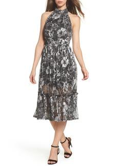 MICHAEL Michael Kors Metallic Midi Dress