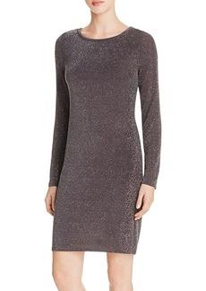 MICHAEL Michael Kors Metallic Sheath Dress