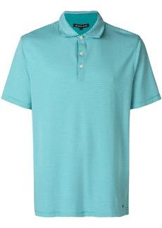 Michael Michael Kors micro-striped polo shirt - Green